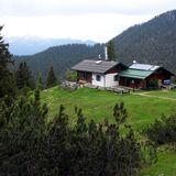 Karwendel: Hochlandhütte