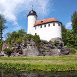Erzgebirge: Burg Rabenstein