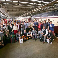 Mit dem Orient-Express nach London