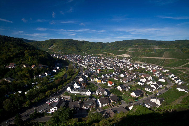 Ahr: Rotweinwanderweg Ahrweiler-Dernau