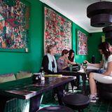 Beliebtes Café