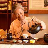 "Teezeremonie im ""Tea Chapter"""