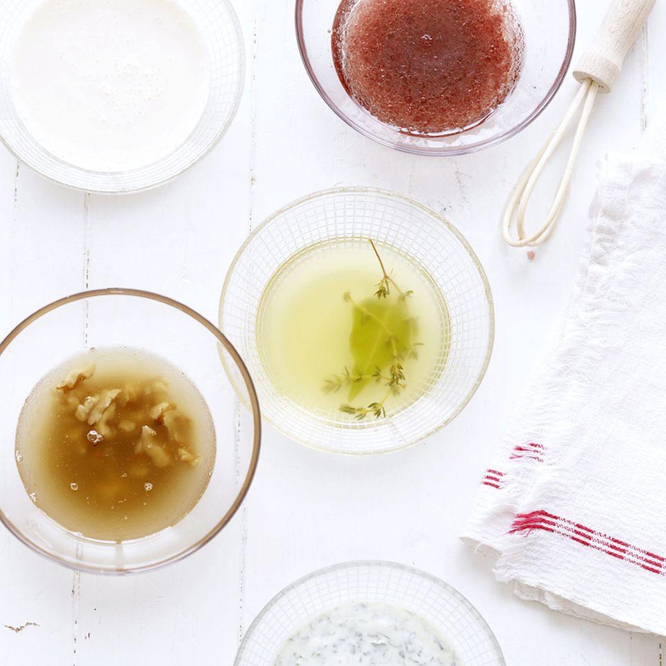 Salatdressing: einfache & schnelle Rezepte