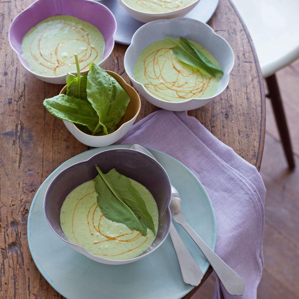 Kräuter in Suppen