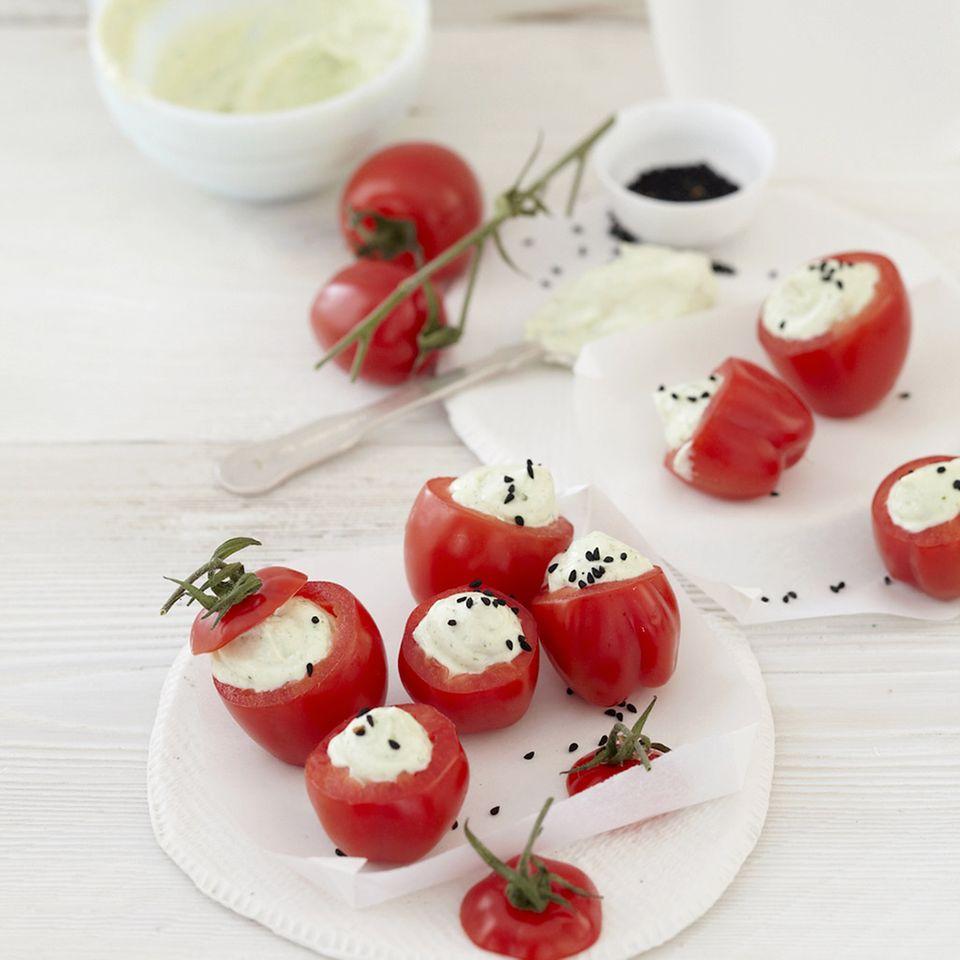 Salatteller: Toppings