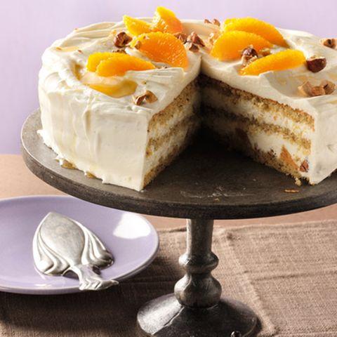 Rezepte: Torte mit Früchten