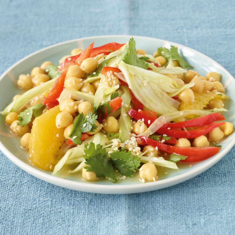 Fenchel in Salaten und Suppen
