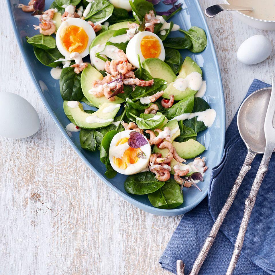 Salat-Rezepte mit Spinat