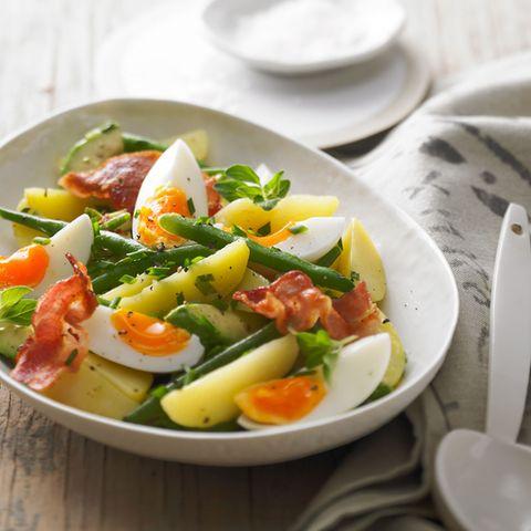 Grüne Bohnen in Suppen und Salaten