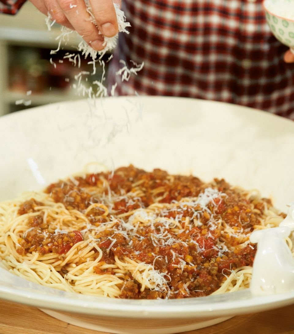 Lieblings-Nudeln: Spaghetti Bolognese