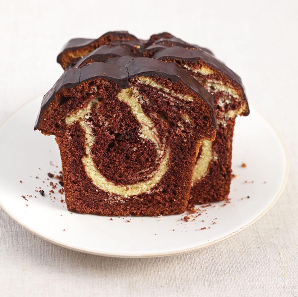 Klassischer Rührteig-Kuchen: Marmorkuchen