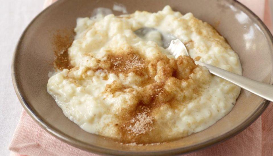 Das Soulfood-Essen schlechthin: Milchreis mit Zimt und Zucker
