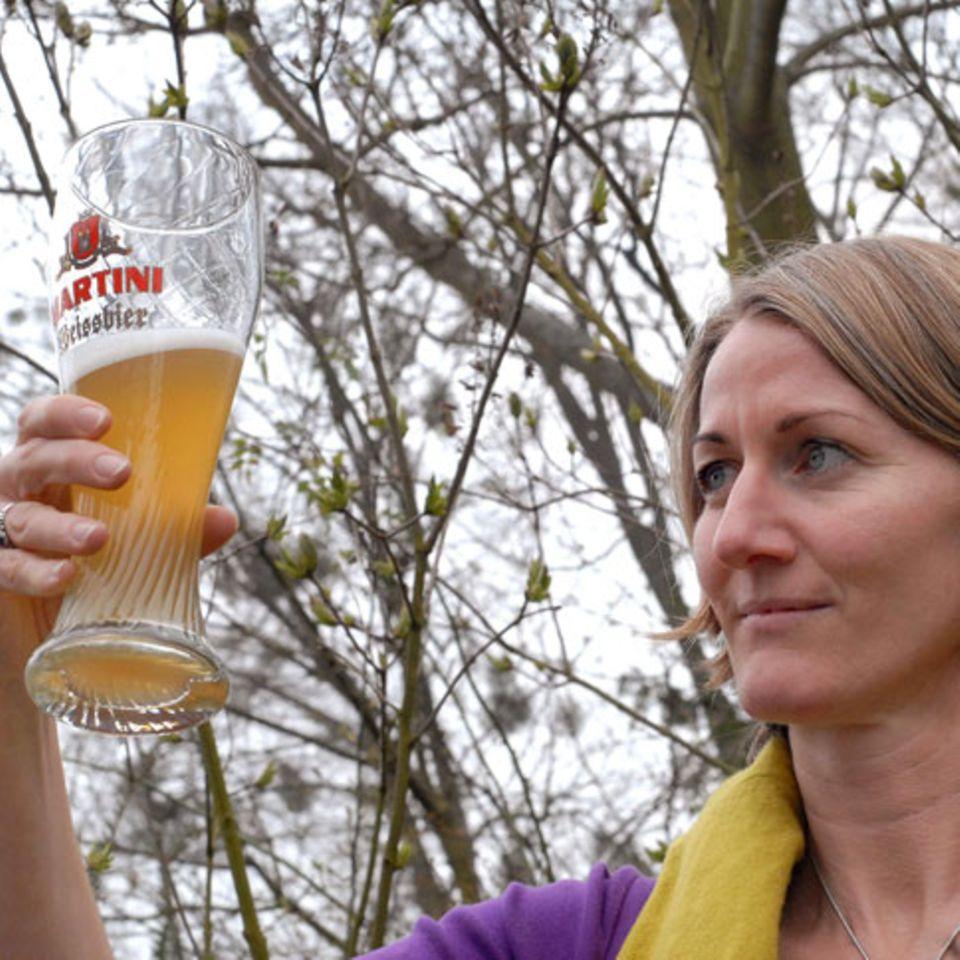 Ein gutes Bier hat eine schöne Optik