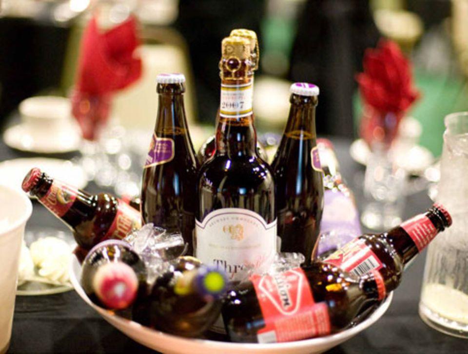 3500 verschiedene Biere werden beim World Cup verkostet.