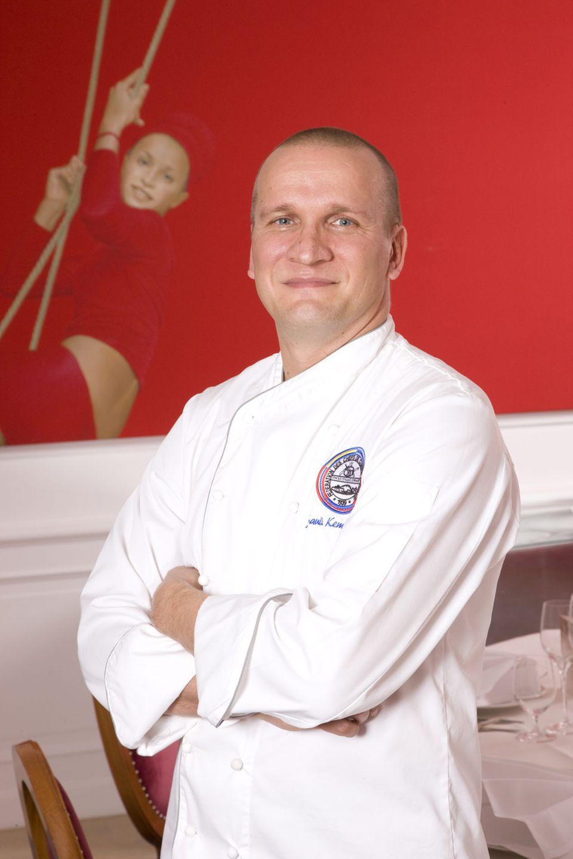 Sauli Kempainnen, Küchenchef vom Restaurant Quadriga