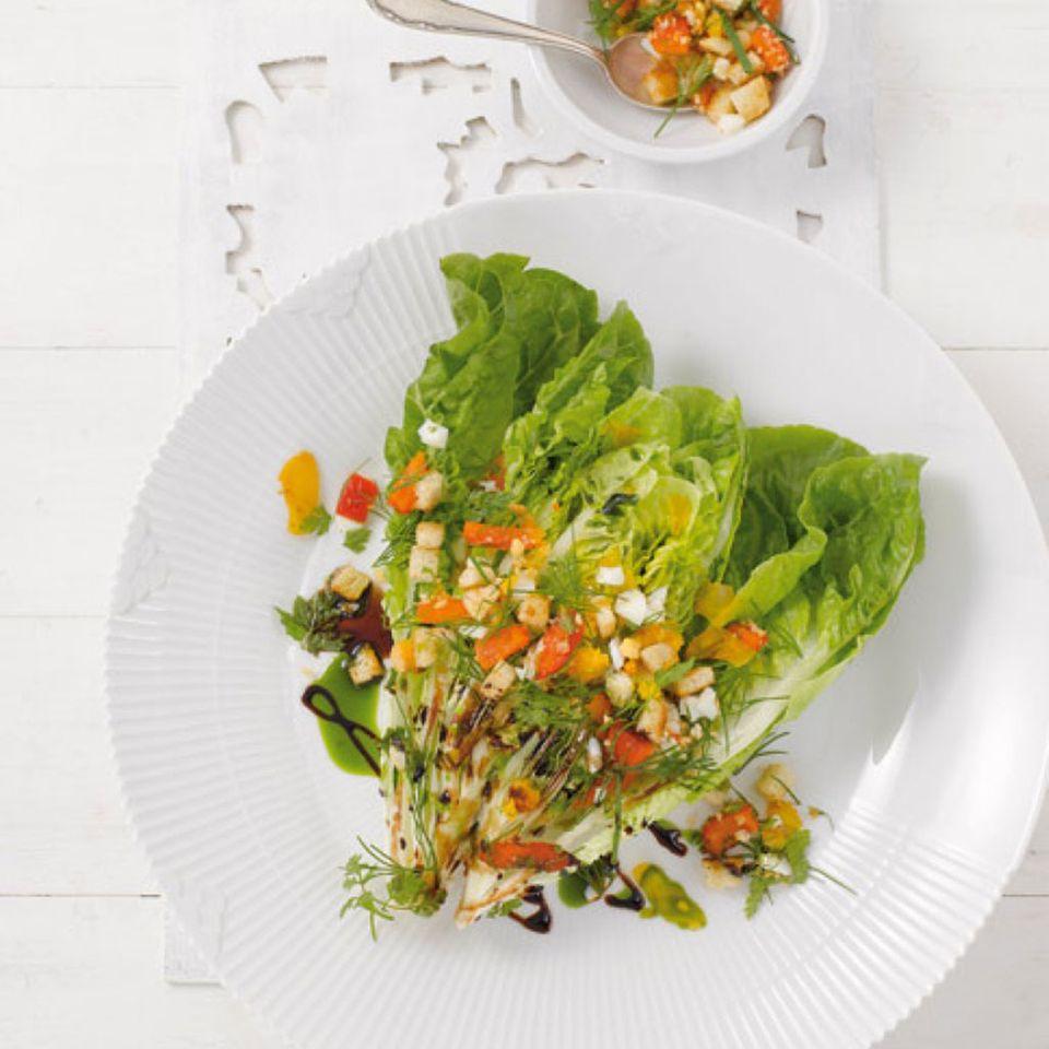 Salat: Zubereitung, Verarbeitung, Einkauf und Lagerung