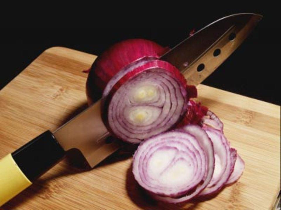 Je schärfer das Messer, desto weniger Tränen.