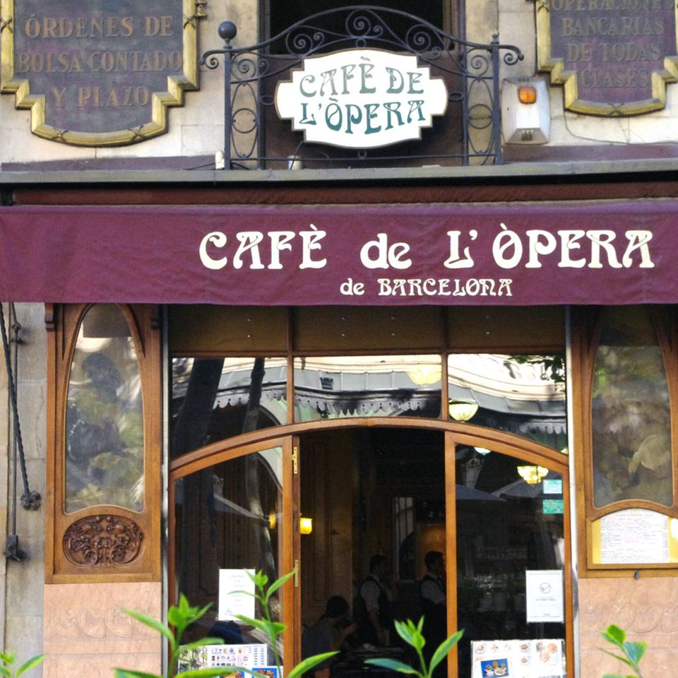 Eine Institution in Barcelona: Das Café de L'Òpera