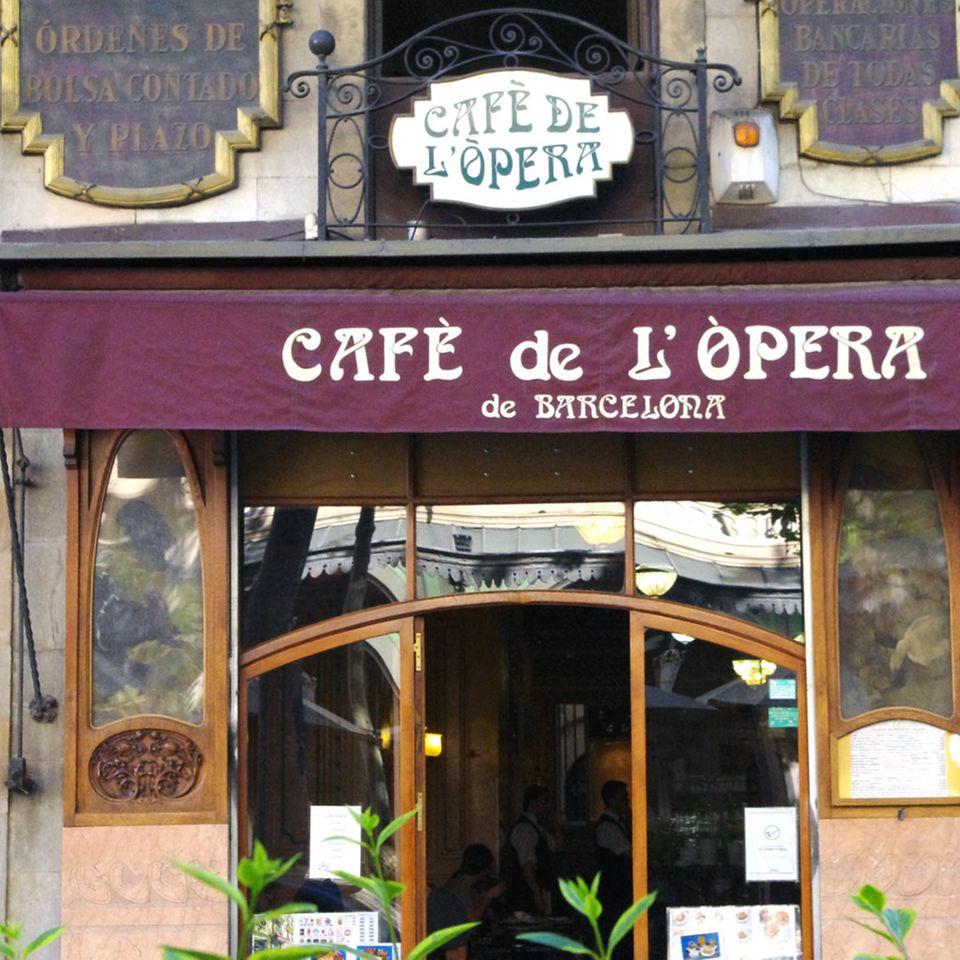 Eine Institution in Barcelona: Das Café de L'Òpera