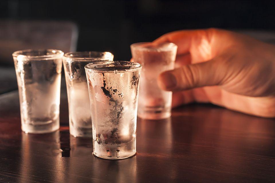 Wodka-Shots