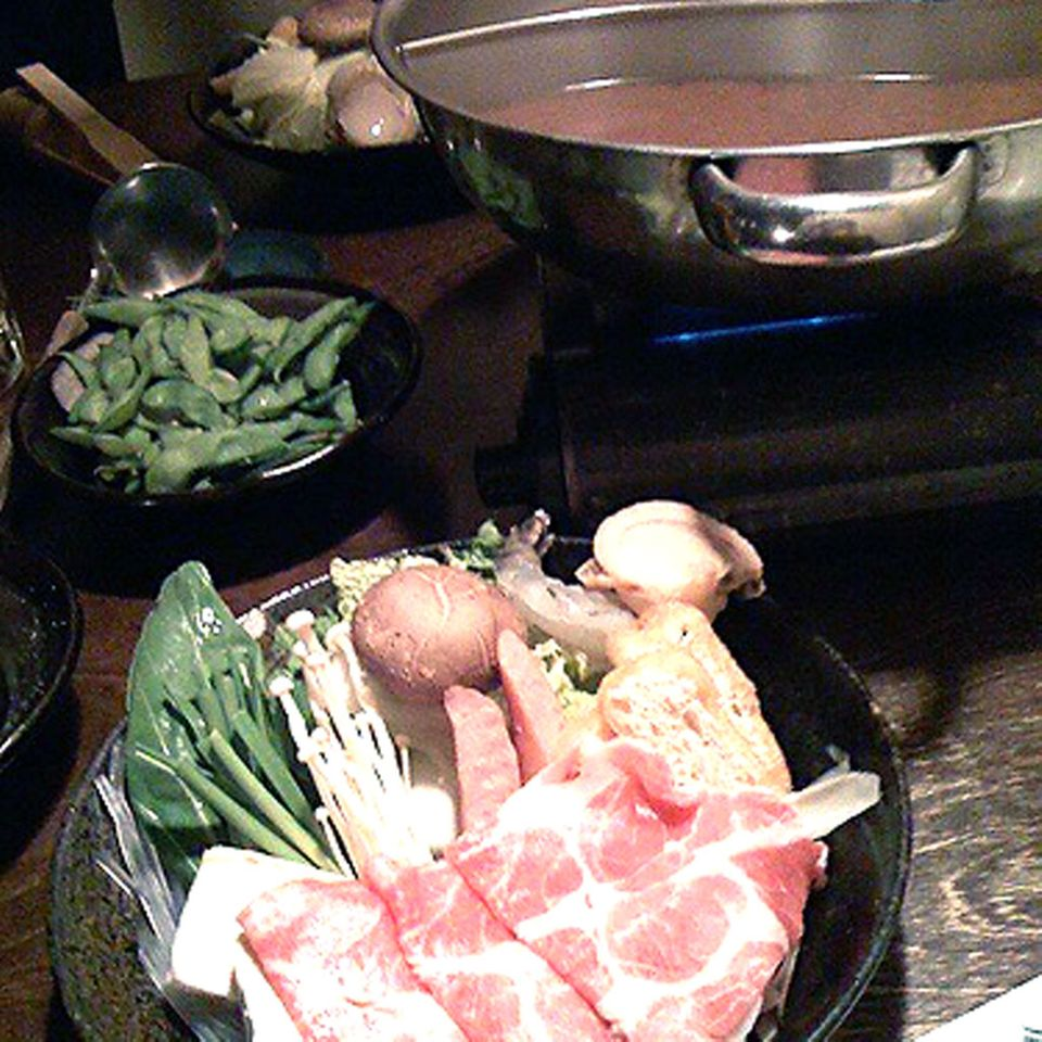 Chanko-Nabe ist das Essen der Sumo-Ringer