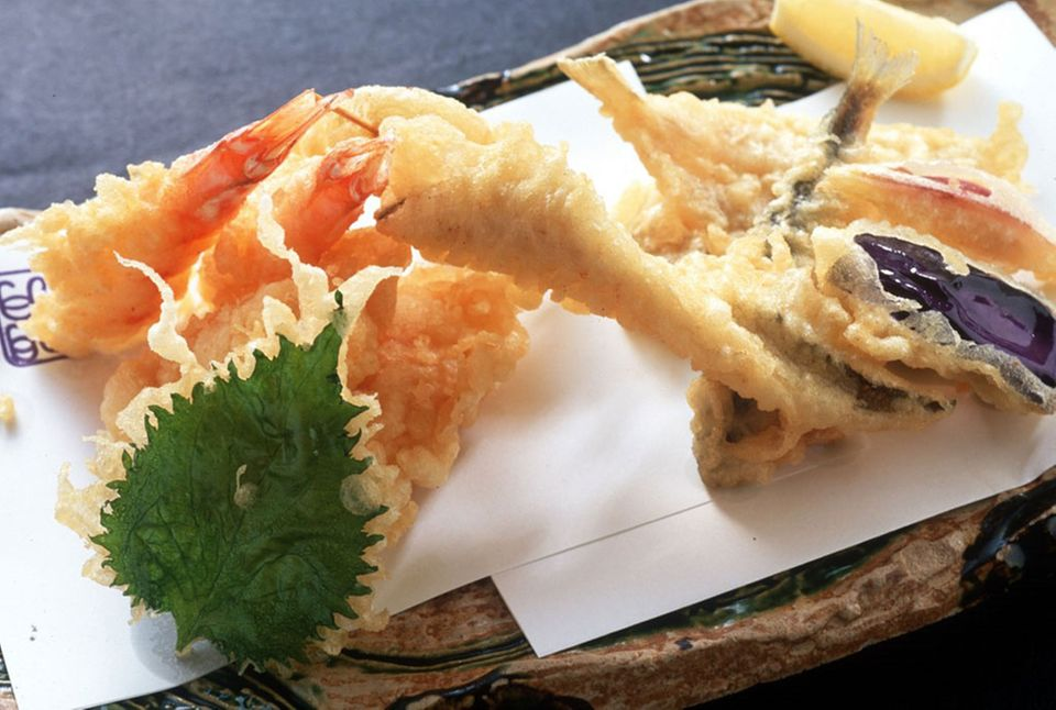 Tempura sind typisch japanische Snacks