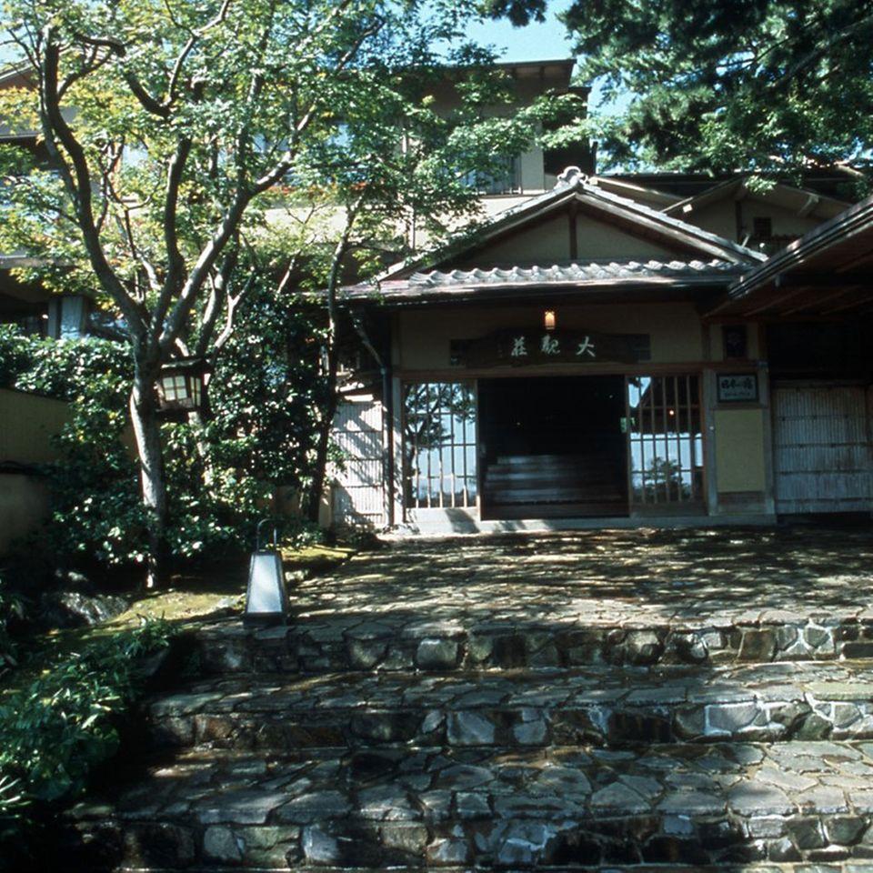 Das Taikanso-Ryokan in der Präfektur Shizuoka liegt nicht weit entfernt von Tokio