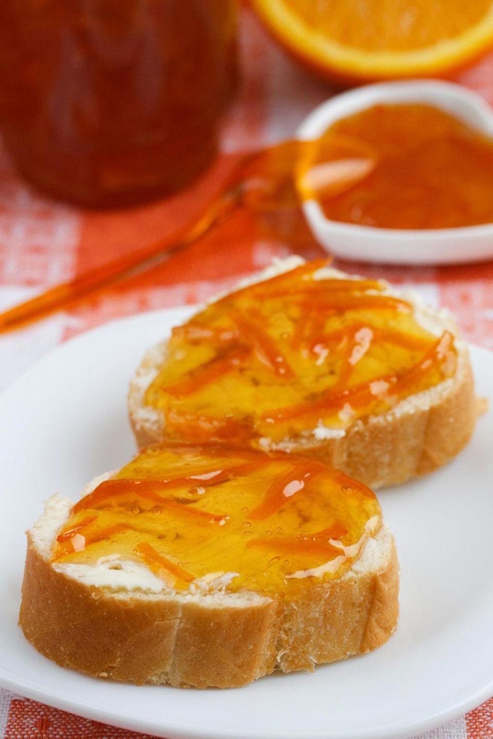 Marmelade wurde in Schottland erfunden