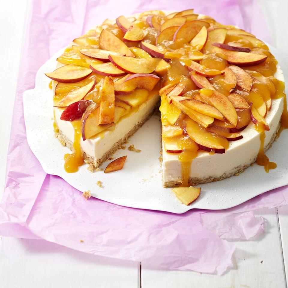 Süßes mit Pfirsich
