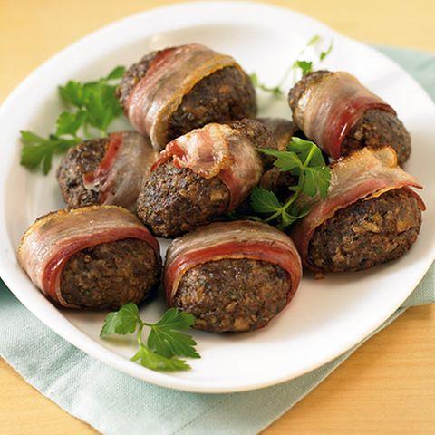 Rezepte: Fleisch mit Speck