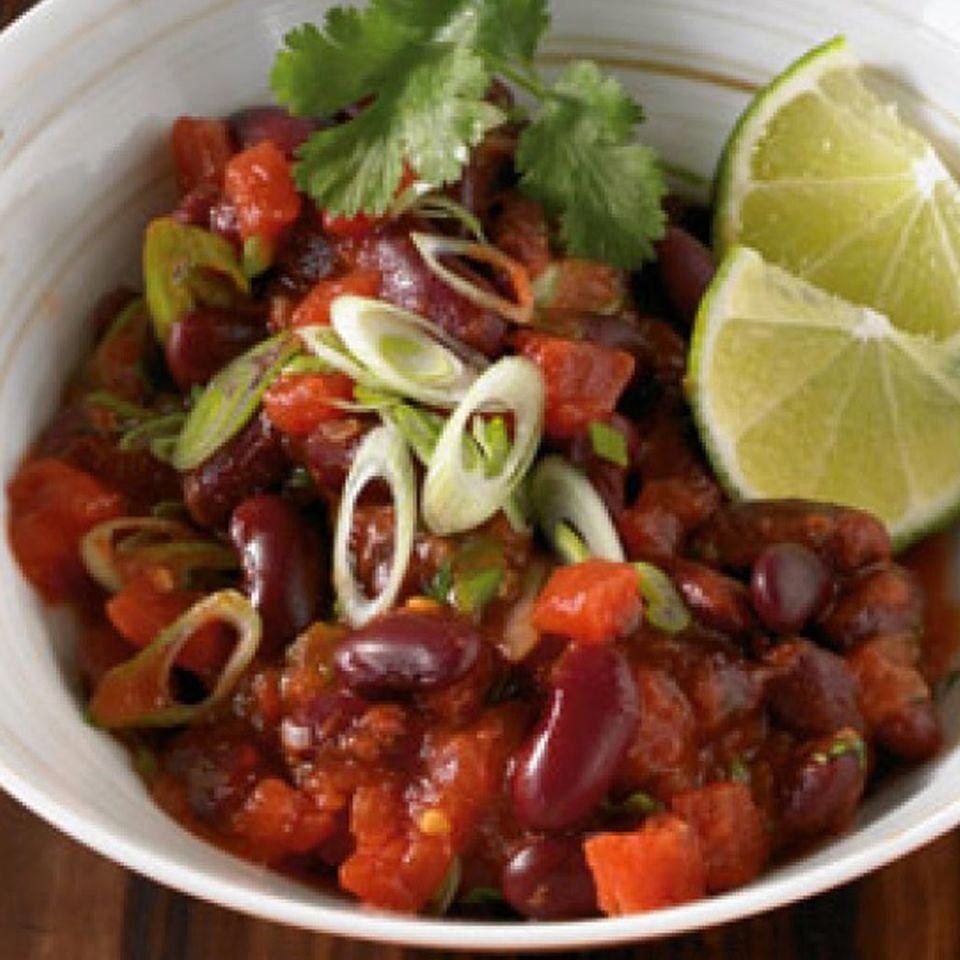 Kidneybohnen sind ein Muss in Chiligerichten