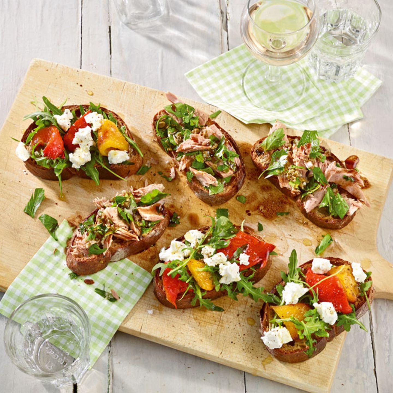 Italienische Küche: Bruschette
