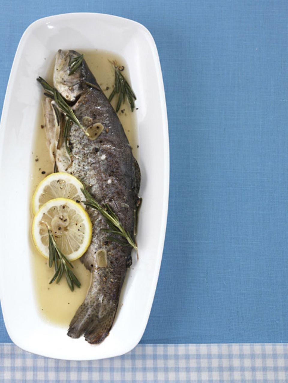 Heimischer Fisch: Forelle
