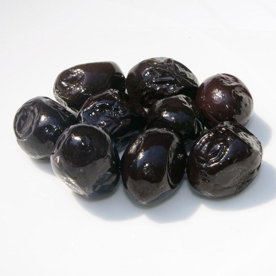 Türkische Gemlik-Oliven