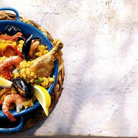 Rezepte: Meeresfrüchte mit Reis