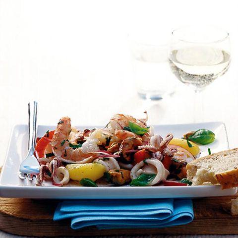 Rezepte: Meeresfrüchte im Salat