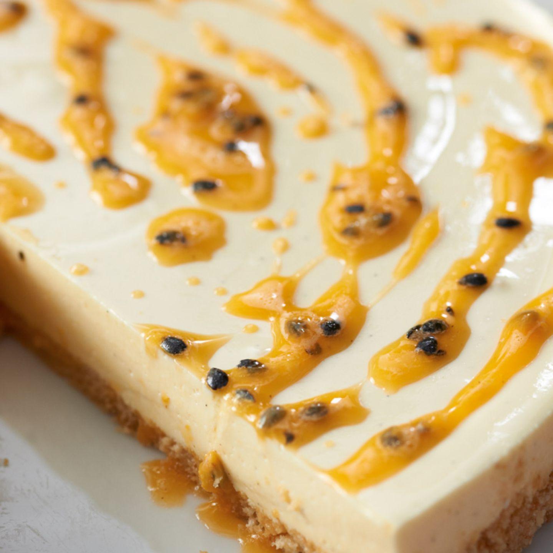 Ein Traum mit Passionsfrucht: Maracuja-Frischkäse-Torte