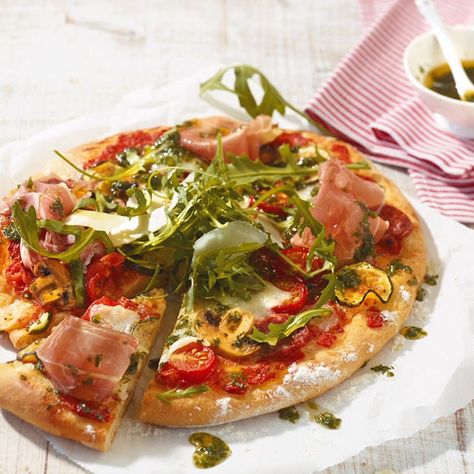 Tomaten: Rezepte für Pizzen & Tartes