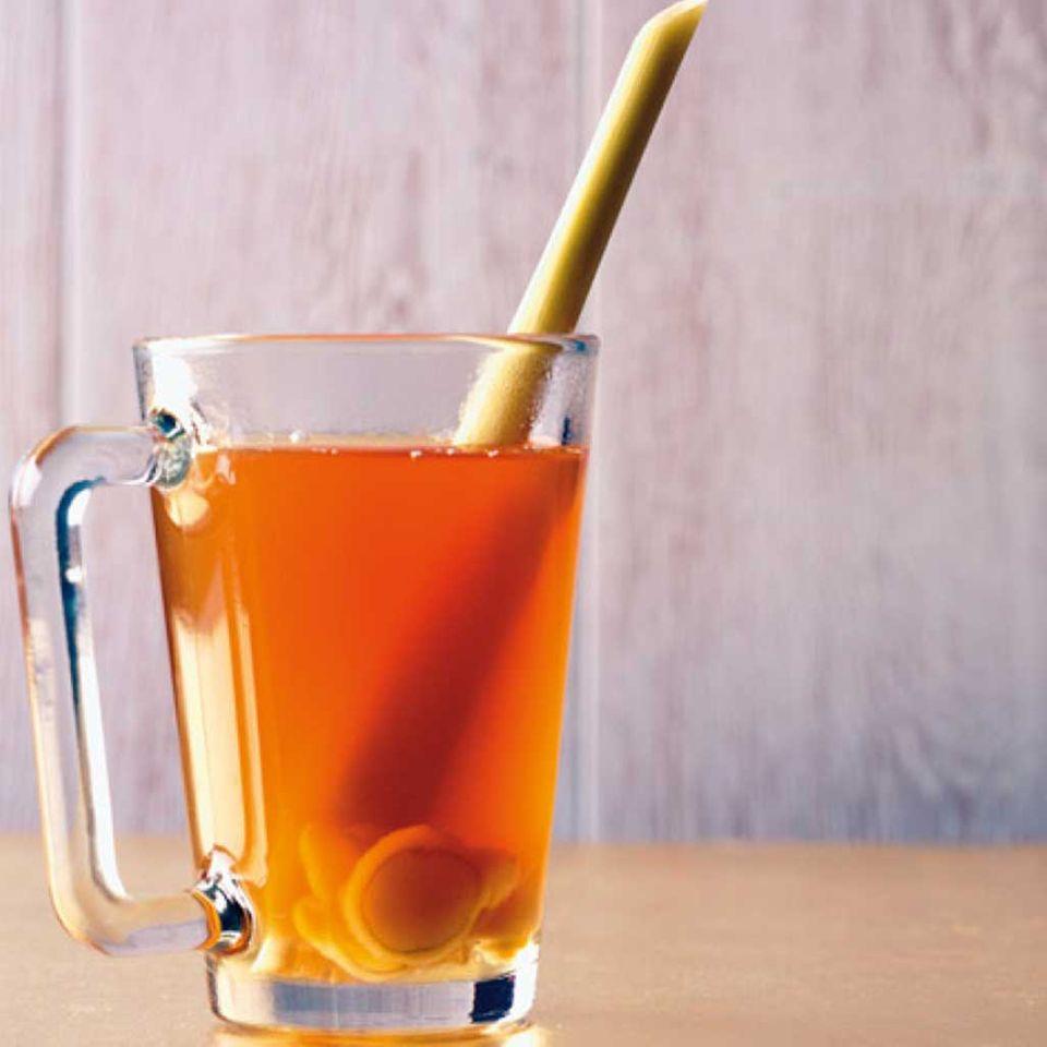 Passend an kalten Tagen: Ingwer-Tee