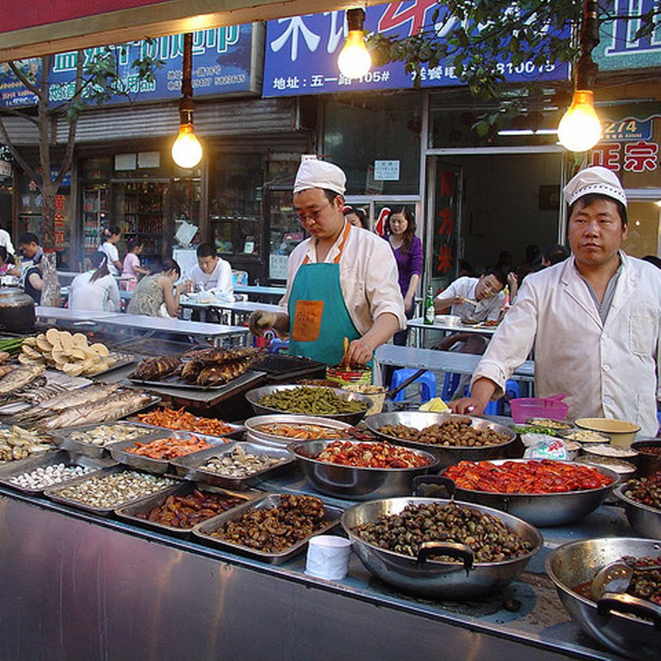 Street food in Peking