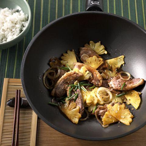 Rezepte: Fleisch aus dem Wok