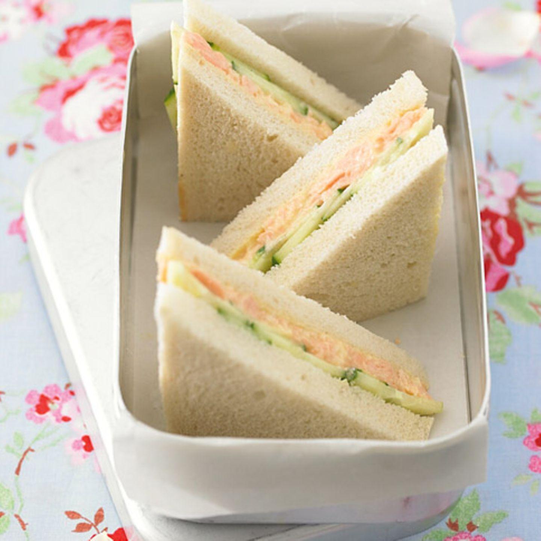 Gurken: Sandwiches, Brote und Wraps