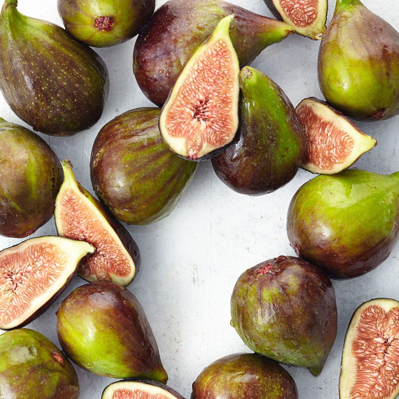 Im Inneren frischer Feigen versteckt sich saftig-süßes Fruchtfleisch