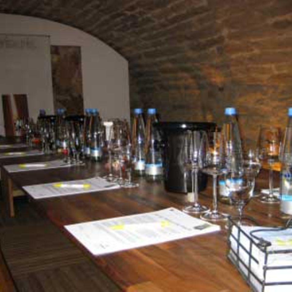 Weinkeller im Vinoria