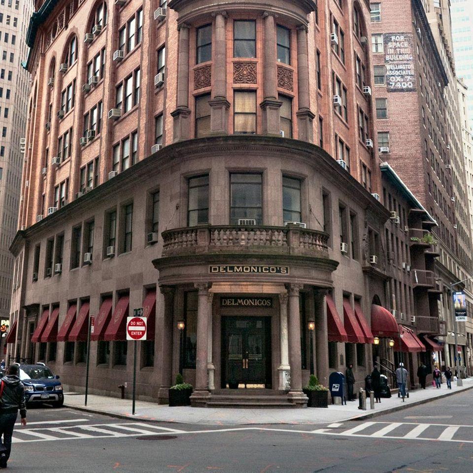 Delmonico's Restaurant in New York