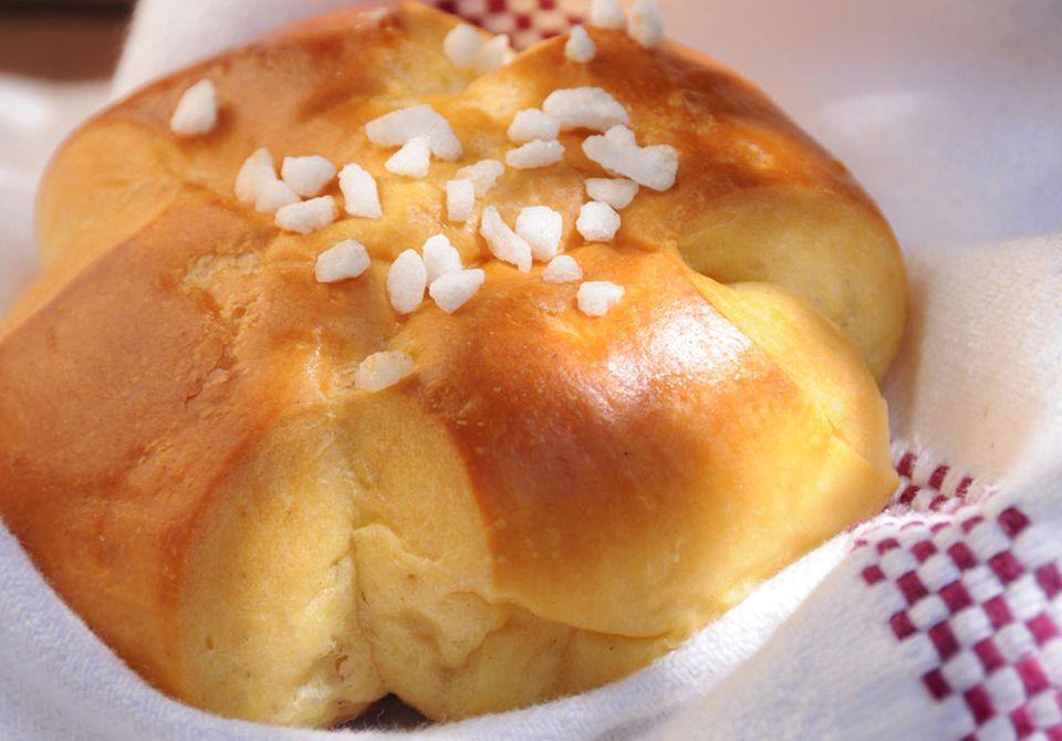 Très francais: Brioche zum Frühstück