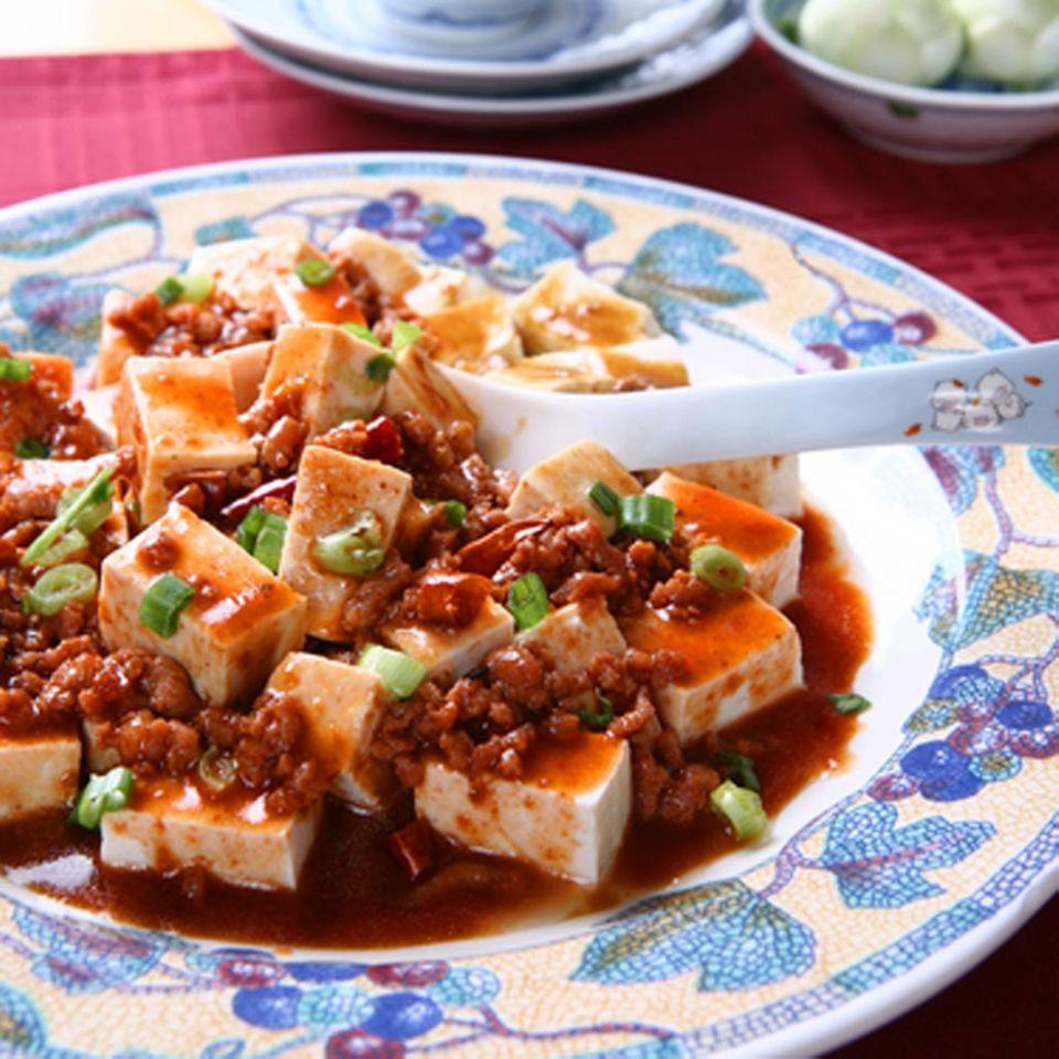 Spezialität aus Sichuan: Mapo Dofu