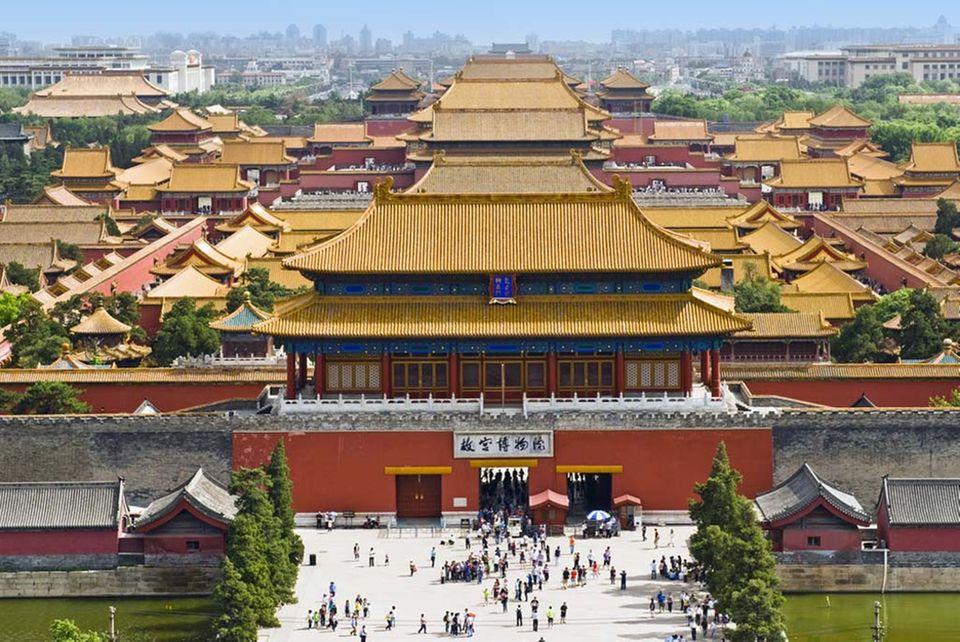Hinter diesen Mauern wurden dem Kaiser einst opulente Gerichte aufgetragen