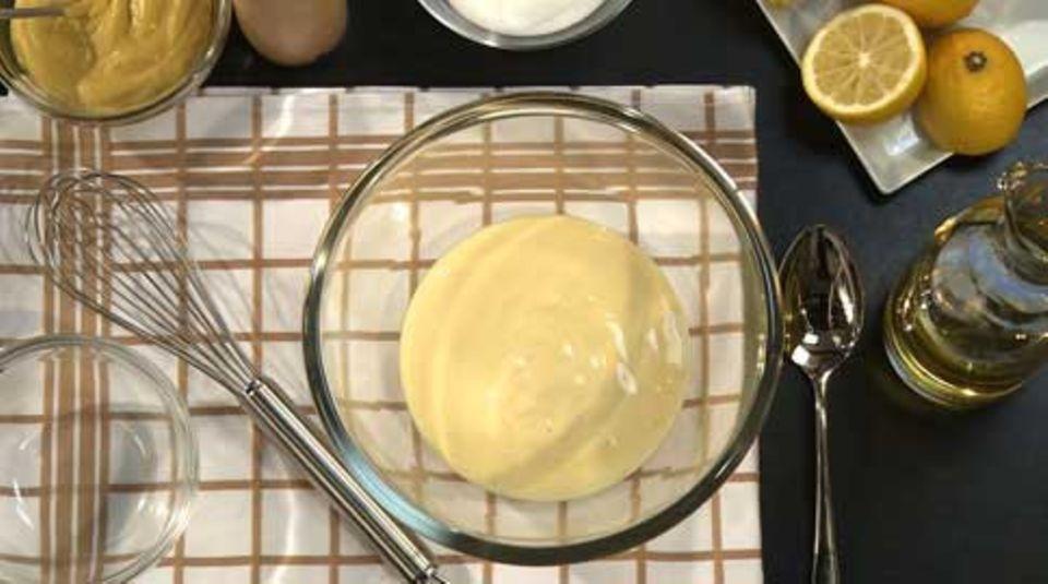 Basis einer jeden Remoulade ist Mayonnaise
