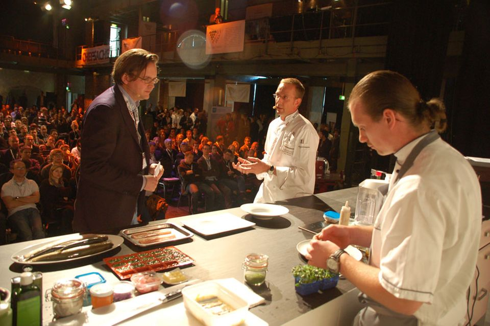 Nils Henkel im Gespräch mit dem Food Blogger Dr. Ingo Scheuermann